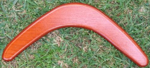Blank returning boomerang