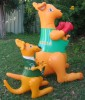 Inflatable kangaroo toys