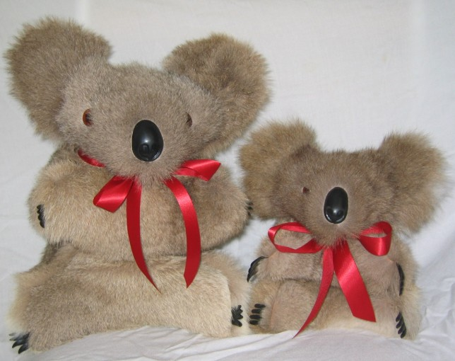 Koala Toys Made of Kangaroo Fur