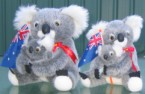 8 and 10 inch koalas